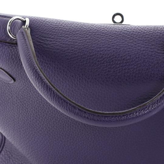 Hermès Handbag Leather Hobo Bag Image 6