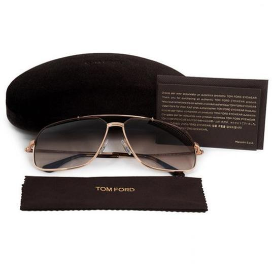Tom Ford FT0439 48F Women Pilot Sunglasses Image 1