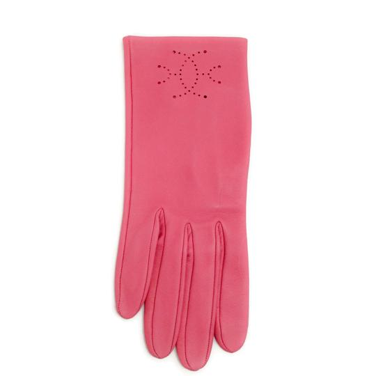 Hermès Leather Perforated Gloves Image 1
