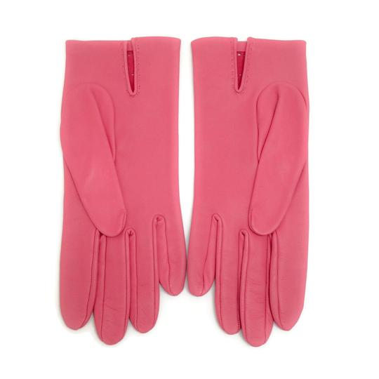 Hermès Leather Perforated Gloves Image 4