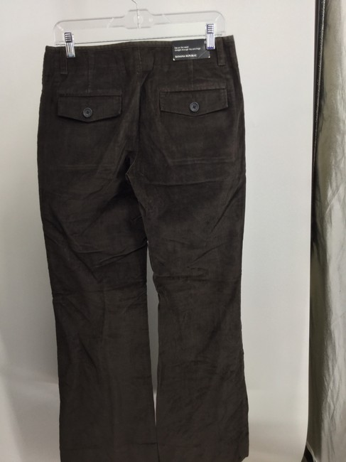 Banana Republic Straight Pants Brown Image 1