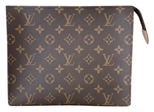 Preload https://img-static.tradesy.com/item/26649900/louis-vuitton-new-sold-out-limited-toiletry-26-dustbag-tags-made-in-spain-brown-monogram-canvas-leat-0-27-540-540.jpg