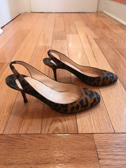 Christian Louboutin Red Soles Patent leopard, black, animal Pumps Image 3