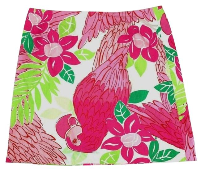 Preload https://img-static.tradesy.com/item/26649924/lilly-pulitzer-pink-parrot-skirt-size-petite-4-s-0-1-650-650.jpg
