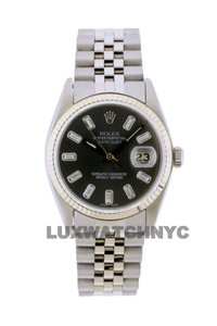 ROLEX 36mm Datejust STIANLESS STEEL with Appraisal
