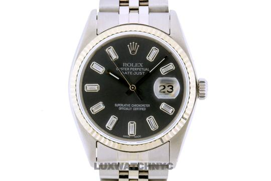 ROLEX 36mm Datejust STIANLESS STEEL with Appraisal Image 1