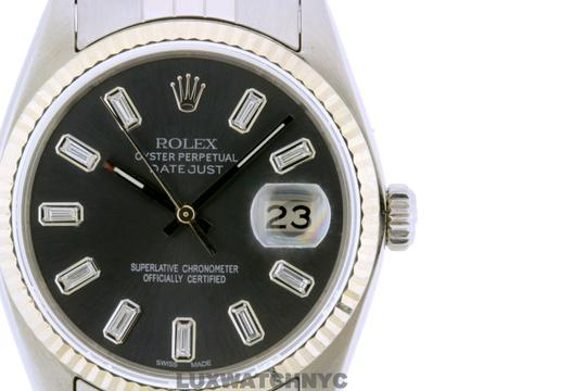 ROLEX 36mm Datejust STIANLESS STEEL with Appraisal Image 2