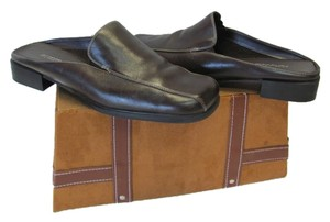 Aerosoles Leather Size 9.50m BROWN Mules
