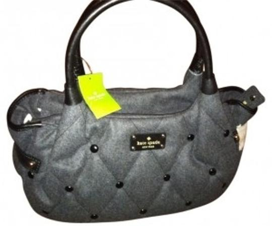 Preload https://img-static.tradesy.com/item/26650/kate-spade-stevie-dazzle-dot-style-pxru3036-charcoal-fabric-and-leather-straps-satchel-0-0-540-540.jpg