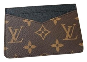 Louis Vuitton New Neo Porte Cartes Monogram Macassar made in France dustbag tags