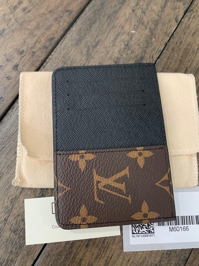 Louis Vuitton New Neo Porte Cartes Monogram Macassar made in France dustbag tags Image 1