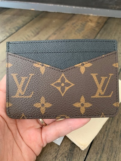 Louis Vuitton New Neo Porte Cartes Monogram Macassar made in France dustbag tags Image 7