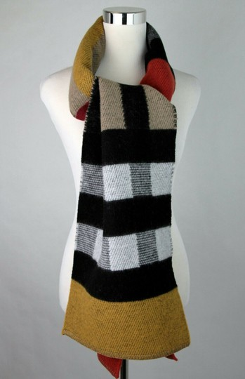Burberry Saffron House Checkered Wool/Cashmere Blanket Scarf 39551561 Image 2