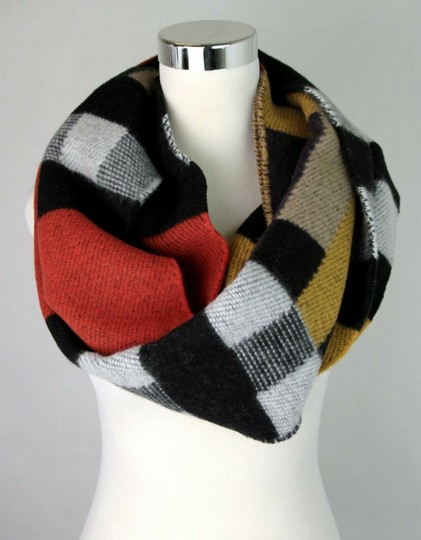Burberry Saffron House Checkered Wool/Cashmere Blanket Scarf 39551561 Image 3