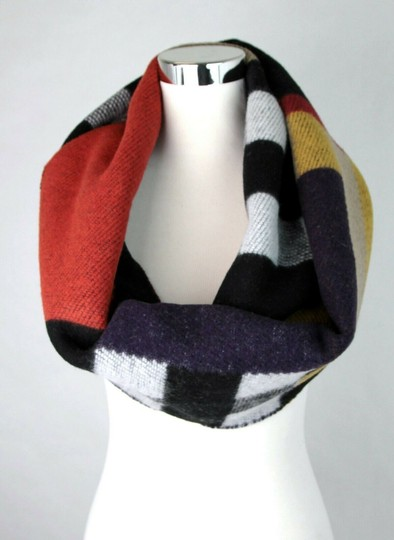 Burberry Saffron House Checkered Wool/Cashmere Blanket Scarf 39551561 Image 4