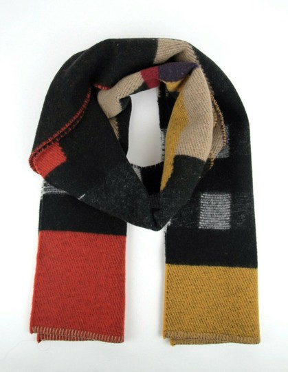 Burberry Saffron House Checkered Wool/Cashmere Blanket Scarf 39551561 Image 5