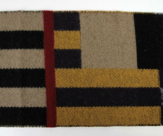 Burberry Saffron House Checkered Wool/Cashmere Blanket Scarf 39551561 Image 6