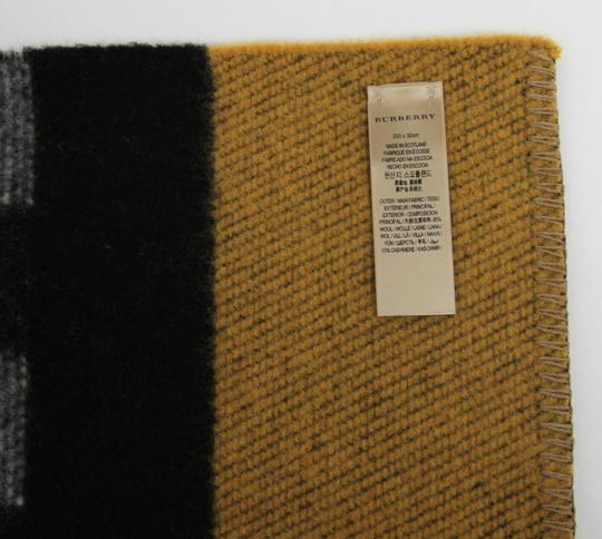 Burberry Saffron House Checkered Wool/Cashmere Blanket Scarf 39551561 Image 8