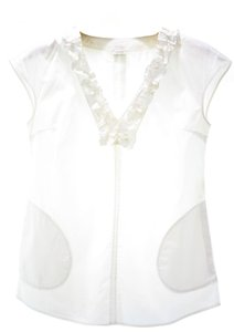 Agnona Top white