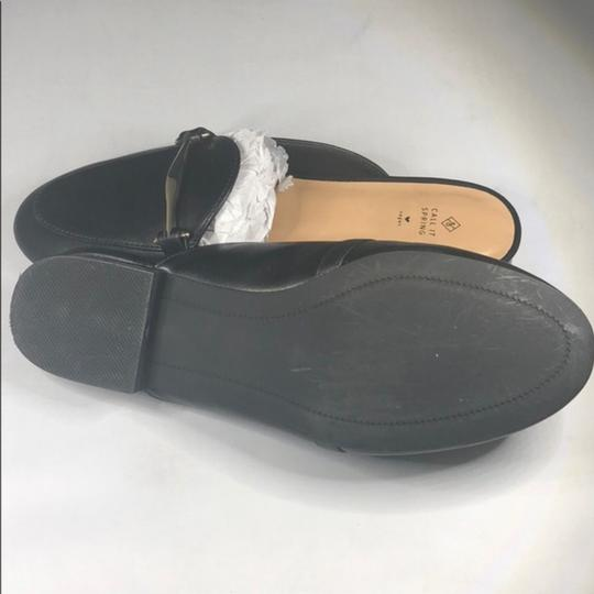 Call It Spring Black Sandals Image 1
