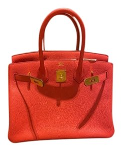 Hermès Tote in A5 red