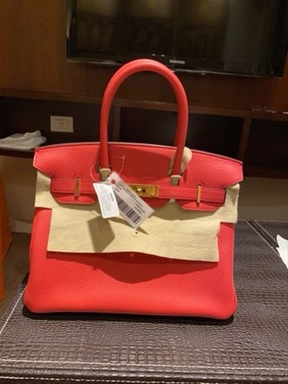 Hermès Tote in A5 red Image 1