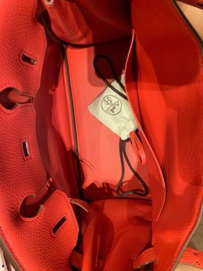 Hermès Tote in A5 red Image 2