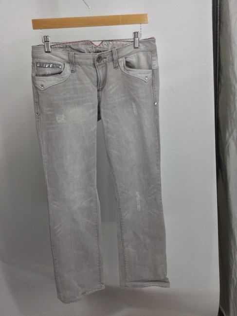A|X Armani Exchange Straight Leg Jeans-Light Wash Image 1