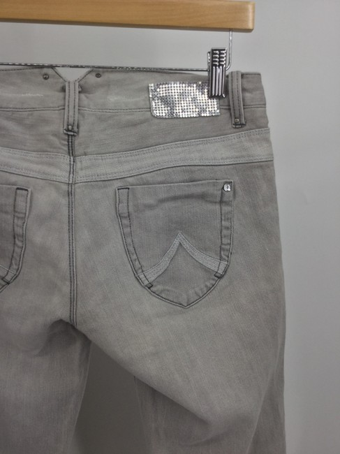 A|X Armani Exchange Straight Leg Jeans-Light Wash Image 3