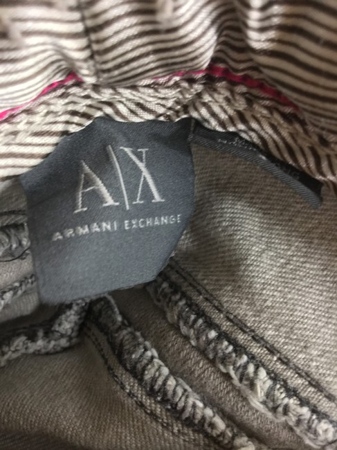 A|X Armani Exchange Straight Leg Jeans-Light Wash Image 5