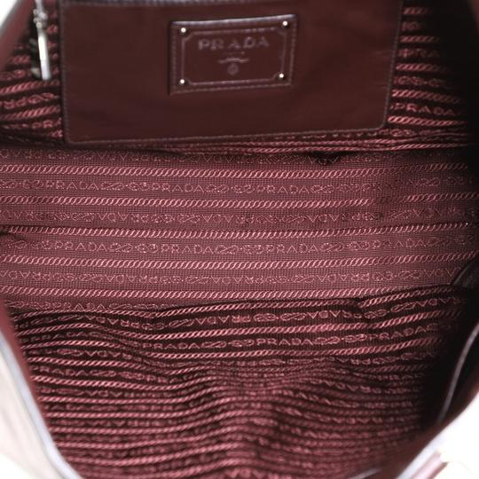 Prada Leather Tote in red Image 4