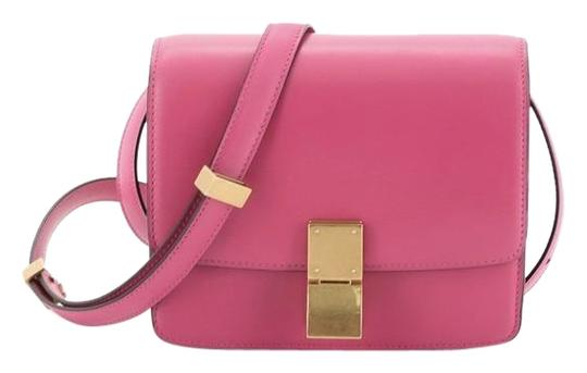 Preload https://img-static.tradesy.com/item/26650078/celine-classic-box-smooth-small-pink-leather-shoulder-bag-0-1-540-540.jpg