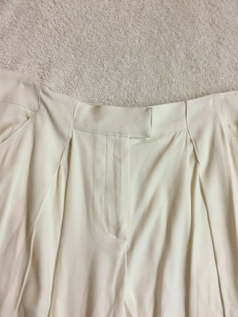 Veronica Beard Culottes Gauchos Capri/Cropped Pants Cream Image 4