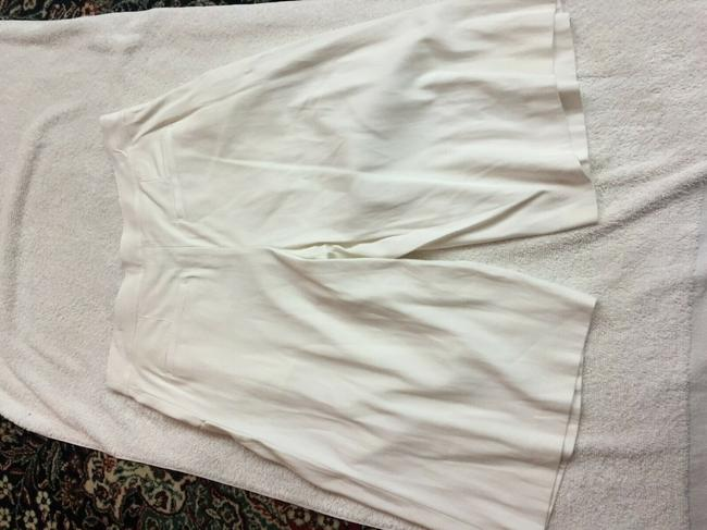 Veronica Beard Culottes Gauchos Capri/Cropped Pants Cream Image 8