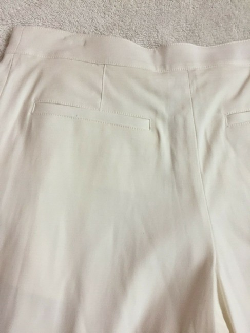 Veronica Beard Culottes Gauchos Capri/Cropped Pants Cream Image 9