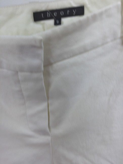 Theory Straight Pants White Image 1