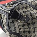 Gucci Canvas Satchel in blue and brown Image 6
