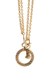 Chanel CHANEL Vintage Magnifying Glass Necklace