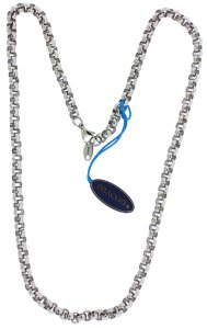 BRACCIO Braccio AN260002 Men's necklace in Stainless Steel 24 inches long