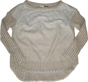 Tracy Reese Quilted Fleece Sweater