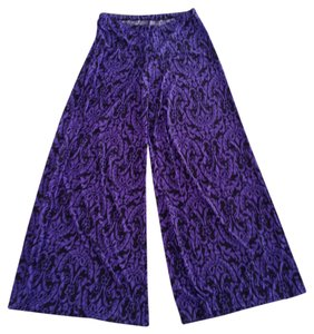 other Wide Leg Pants Purple