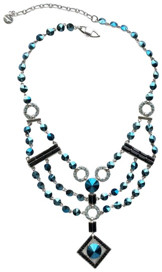 Givenchy Crystal Neo Deco Bib Necklace Image 0