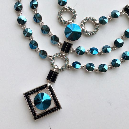 Givenchy Crystal Neo Deco Bib Necklace Image 1