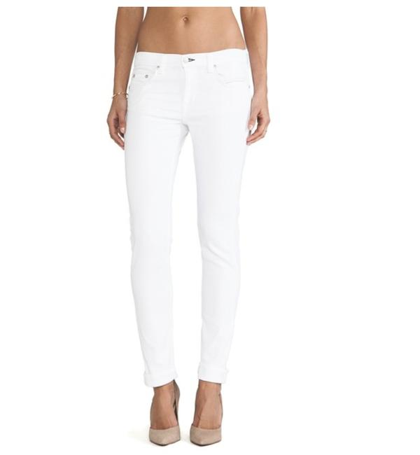 Item - Bright White Dre Skinny Jeans Size 26 (2, XS)