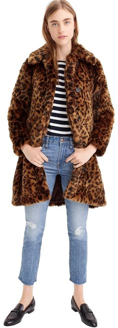 Item - Leopard XS New Faux-fur G9553 Coat Size 2 (XS)
