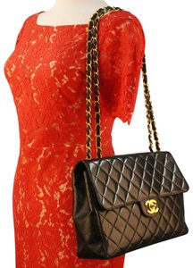 Chanel Lambskin Quilted Vintage Classic Shoulder Bag
