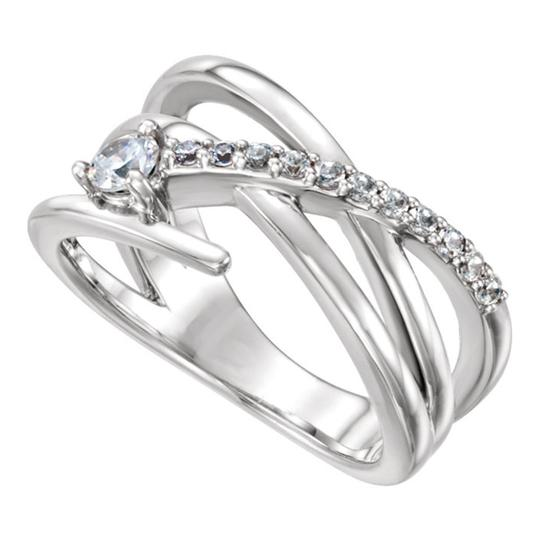 Preload https://img-static.tradesy.com/item/26656021/white-040-ct-ladies-round-freeform-engagement-ring-0-0-540-540.jpg