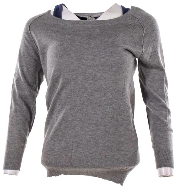 Item - Gray and Brown Sweater