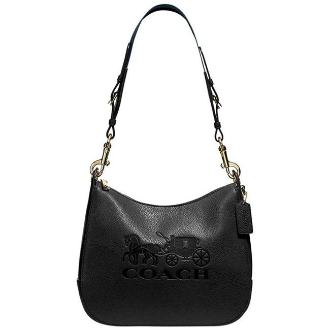 Item - Shoulder Jes Black/Gold Black Hobo Bag