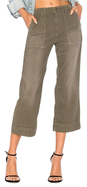 Item - Green Crop Washed Deep Fatigue Pants Size 2 (XS, 26)